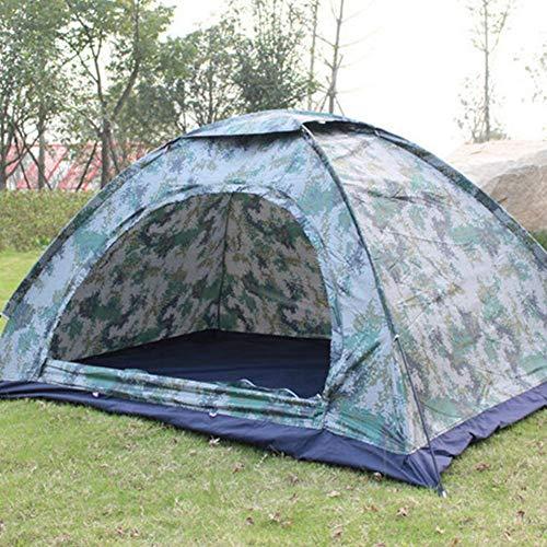 Knowled tenda mimetica, tenda da campeggio mimetica, campeggio esterno pioggia singolo strato digitale doppio strato mimetico e protezione uv negozio negozio di articoli da regalo