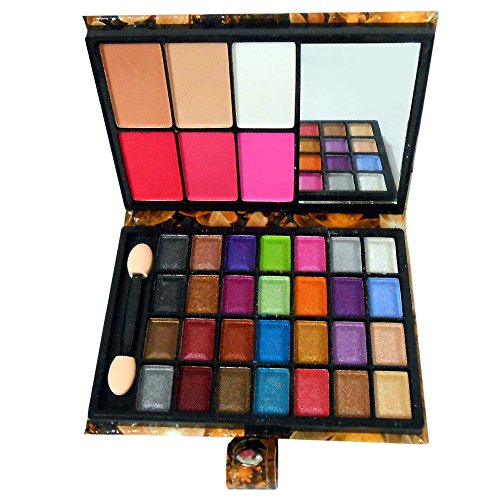 Lijindie Fashion Multi Color Eyeshadow With Blush & Mirror Good Choice- RGRH