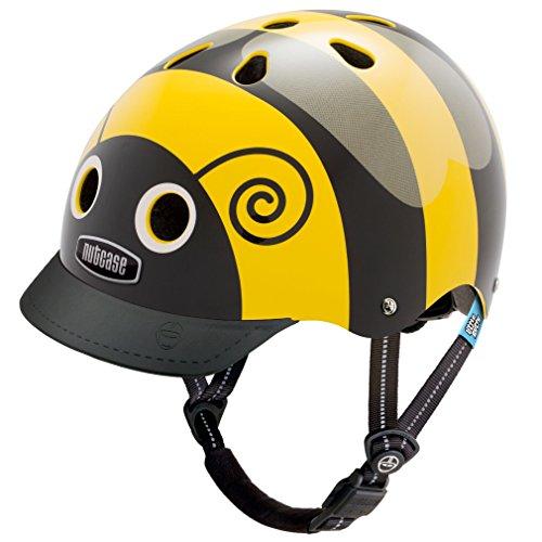 Nutcase - Little Nutty Straßen Fahrradhelm, Passt auf deinen Kopf, Passt zu Dir - Bumblebee