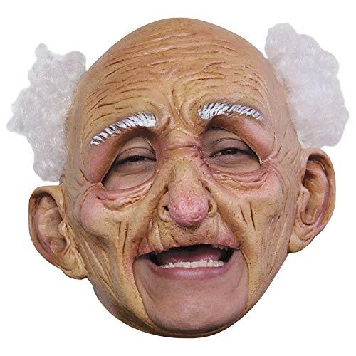 Generique - Alter Mann Maske Halloween für Erwachsene