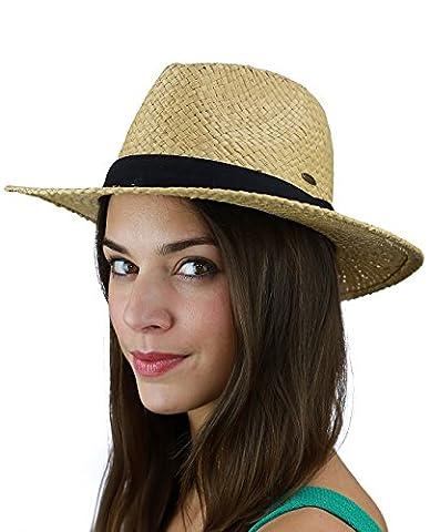 Ruban Pour Chapeau - Chapeau Panama d'été C.C. pour femme en