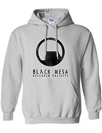 Refugeek Tees - Hommes Black Mesa Sweat à Capuche