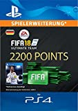 FIFA 18 Ultimate Team - 2200 FIFA Points | PS4 Download Code - deutsches Konto Bild