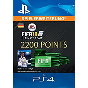 FIFA 18 Ultimate Team – 2200 FIFA Points | PS4 Download Code – deutsches Konto