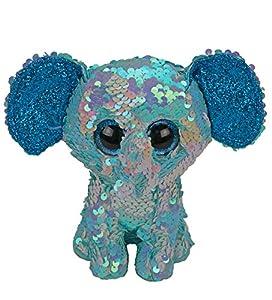 Ty - Peluche de Elefante (23 cm), diseño de Elefante, Multicolor