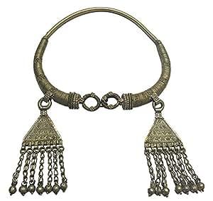 Mehrunnisa Vintage Lambadi Banjara Tassel Necklace For Girls