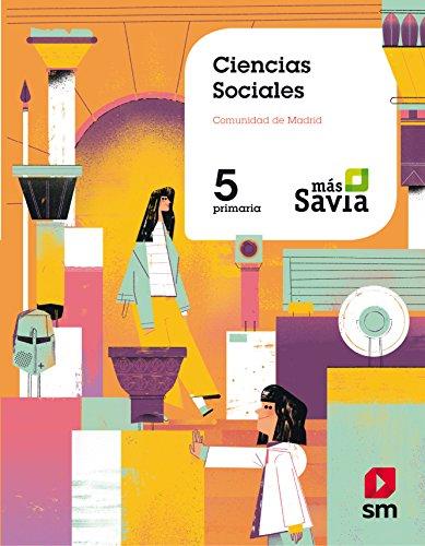 Ciencias sociales 5 Primaria Más Savia Madrid