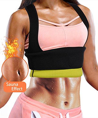 923798c78c697 Hot Neoprene Waist Trainer Corset Vest Sweat Cincher Tank Top Body Shaper  Sauna Shirt for Workout