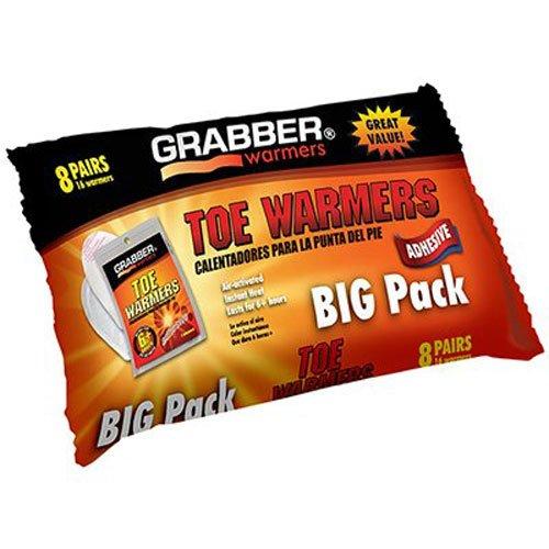 GRABBER WARMERS Zehenwärmer Big Pack, 23 x 11,4 cm, 8 Stück -