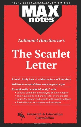 Nathaniel Hawthorne's Scarlet Letter (MaxNotes) by Michael Petrus (1995-06-01)