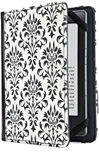 Verso Cover for Kindle, Kindle Paperwhite and Kindle Touch, Versailles Damask
