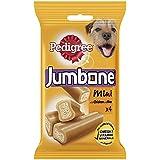 Pedigree Jumbone Small Dog Treats with Chicken and Rice, 4 Chews, 180 g