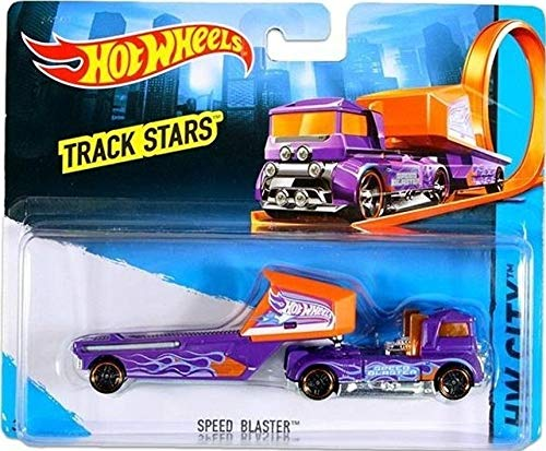 Preisvergleich Produktbild Hot Wheels Track Stars SPEED BLASTER Truck