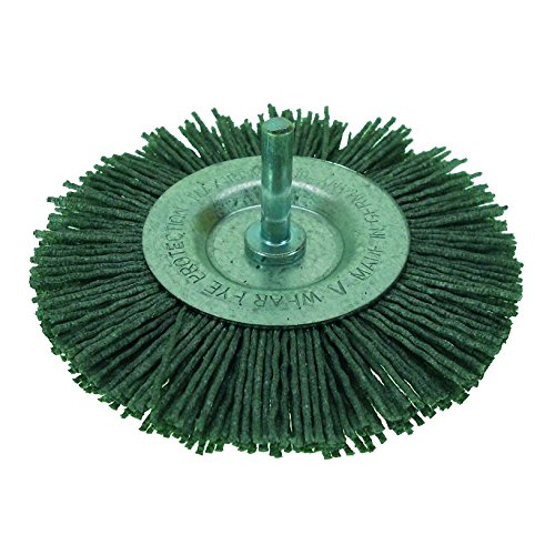 HaWe nylon-sb brosse circulaire 75 x 10 mm, 0–1500