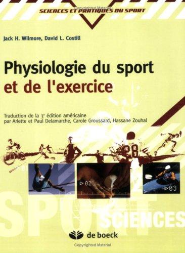 Physiologie du sport et de l'exercice : Adaptations physiologiques  l'exercice physique