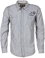 Vent du cap-camisa de manga larga hombre CLOUD- gris-XXL