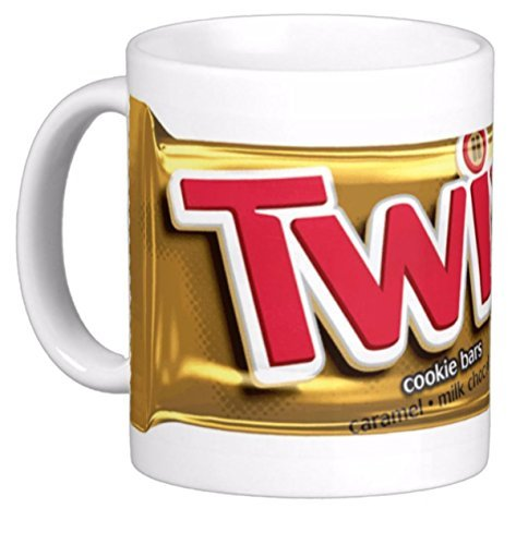 Twixs Candy/cookie Bar. Reproduced on 11 Oz. Ceramic Coffee Mug by The Image Shark (Twix Bars)