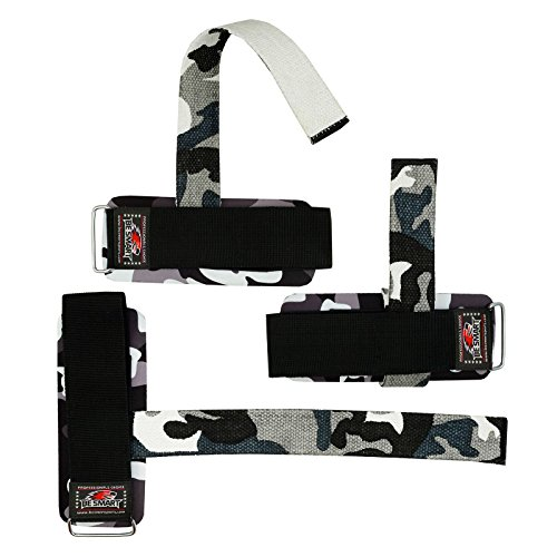 BS-Wrist-Brace-Support-Gym-Straps-Weight-Lifting-wrap-Body-Building-Crossfit-Grip-Gloves-Gray-Camo