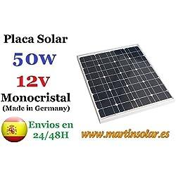 Placa Solar 50w 12v Monocristal
