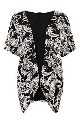 Damen Multi Simone Kimono Mit Paisley-print Multi