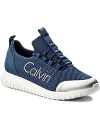Calvin Klein Jeans Herren Ron Mesh/Brushed Metal Sneaker
