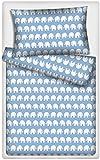 Kinderbettwäsche Garnitur Elefanten