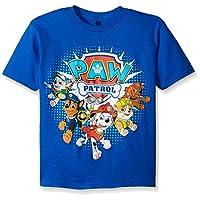 Paw Patrol Little Boys' Toddler Group T-Shirt, Royal, 2T