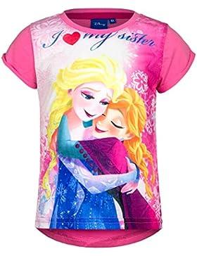 Disney Frozen Eiskönigin T-Shirt, Original Lizenzware, pink, Gr. 104 - 128