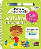 Best Livres pour la maternelle garçons - J'aime la maternelle - Mes activités effaçables Review