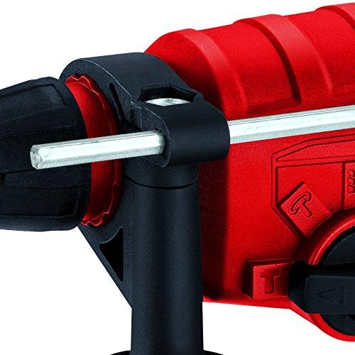 Einhell Bohrhammer TC-RH 800 E (800 W, 2,5 J,Bohrleistung Ø in Beton 26 mm, SDS-Plus-Aufnahme, Metall-Tiefenanschlag, Koffer) - 5