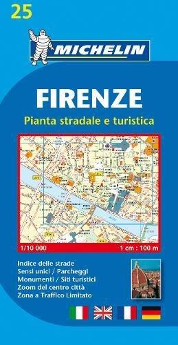 Plano Firenze (Planos Michelin) por Michelin