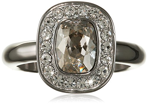 Dyrberg/Kern Damen-Stapelring 15/02 Denas Ii Ss Crystal Kristall unambiguous Gr. 54 (17.2) - 337615