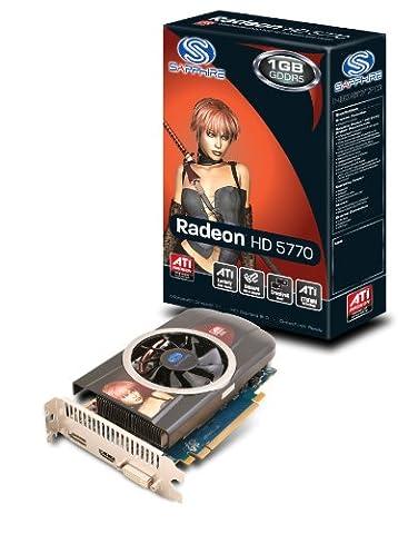 Sapphire ATI Radeon HD5770 Grafikkarte (PCI-e, 1GB GDDR5 Speicher, DVI, HDMI, 1GPU)