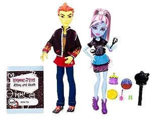 Monster High - BBC82 - Poupée - Duo Abbey et Heath