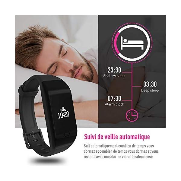 Fitpolo Pulsera de Actividad,Reloj Inteligente para Hombre y Mujer, IP68 Impermeable Reloj Deportivo con Rtmo Cardíaco… 6