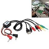 Reparatursätze , Handy-Reparatur-Power Test-Schnittstellenkabel mit USB-Ausgang Schnittstellenkabel