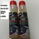 3 X ERC Diesel Plus 1:1000 Multifunktionsadditiv 250ml Art.Nr. 53-0165-05