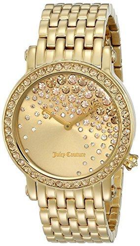 Juicy Couture Donna 1901280la Luxe Display analogico al quarzo oro da Juicy Couture
