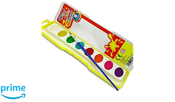 Geschenkidee für Kids Wasserfarb-Kasten für Kinder mit Pinsel