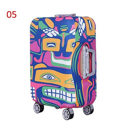 Zhuhaixmy Neu Elastisch Dustproof Gepäck Koffer Trolley Schutz Tasche Abdeckung Anti-Kratzer #05