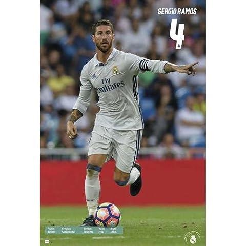 Maxi Poster Real Madrid 2016/2017 Sergio Ramos