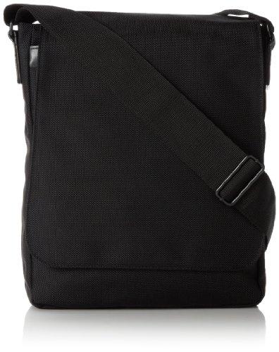 derek-alexander-ns-3-4-flap-shoulder-handbag-black-one-size