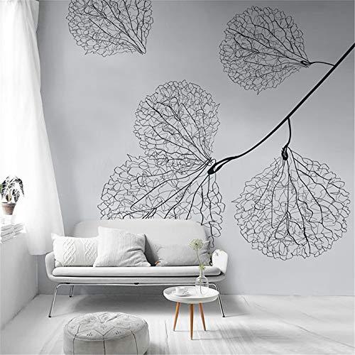 WEMUR Moderne nordischen Stil Hand bemalte Ader Wand Tuch Tapete Wohnzimmer Schlafzimmer Tapete TV Hintergrund Wand zu Karte, 400X280 CM (157,5 By 110,2 In) -