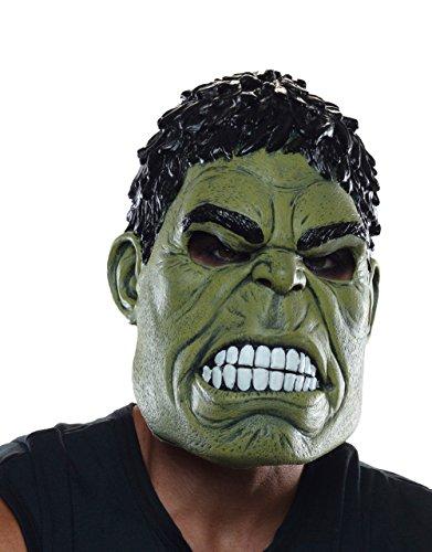 Hulk 3/4Maske, Herren Avengers Age of Ultron Kostüm Zubehör