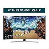 Samsung Curved Dynamic Crystal Colour 4K Ultra HD Certified HDR 1000 Smart TV - Black/Silver (2018 Model) [Energy Class A]