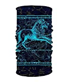 Nifdhkw Constellation 16-in-1 Magic Scarf,Face Mask,Balaclava Bandana for Outdoor Sports Multicolor14