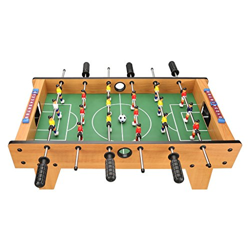 Virhuck 27 Table Top Football Game 6 Rows Fun Table Wit