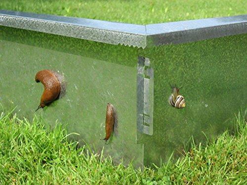 Escargot Clôture type 1, 20 cm de haut, 50 cm de long, escargot Sans escargot Stop sans produits chimiques
