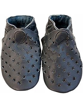 CELAVI - Zapatos primeros pasos para niño azul oscuro