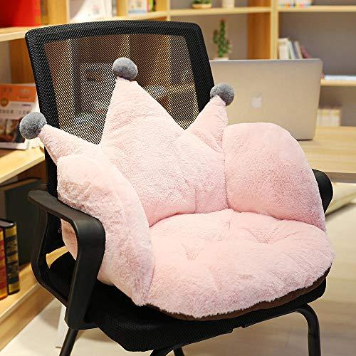 LYCV Rosa Krone sitzende Sitzkissen Schlafzimmerboden Butt Pad Rückenlehne integrierte Matte 55 * 40 * 40cm@C